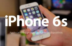 iPhone 6s: Apple cambiará gratis la batería de los dispositivos http://blgs.co/s6fr73