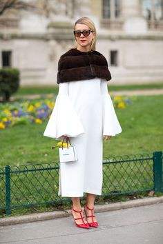 Street Style From Paris Fall 2014