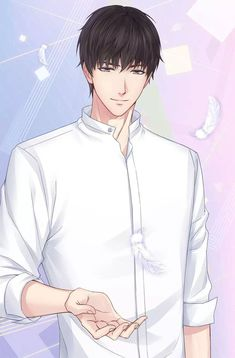 Love and Producer Hot Anime Boy, Cute Anime Guys, Anime Love, Anime Picture Boy, Dream Anime, Dragon Age Series, Handsome Anime Guys, Shall We Date, Anime Couples Manga
