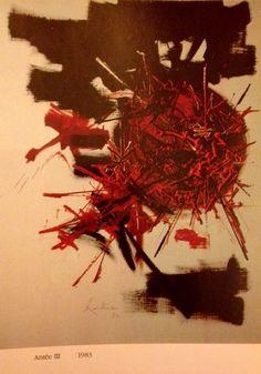 Georges Mathieu Tachisme, Large Painting, Artworks, Inspire, Artists, Sculpture, School, Contemporary Art, Atelier