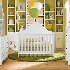 Baby Crib 4 in 1 Ava, Also Comes in Gray