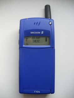 Ericsson T10s blue | My first cell phone.