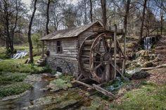 Reed Springs Mill  by Paul Bellinger Sr.
