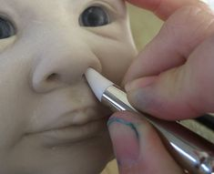 Sculpting OOAK Baby Dolls In Polymer Clay With Color Shapers Tools