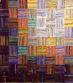 """Carol Taylor: """"Interwoven"""" from the Linear Series."""