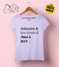 T-shirt feminina Gírias &
