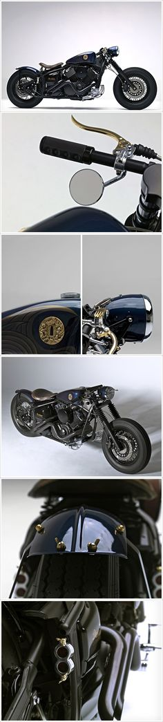 Destino Custom Garage - 'Samurai',  I just love the lines