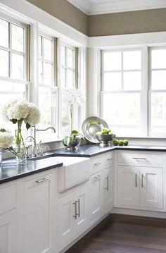 Beautiful Kitchen & windows