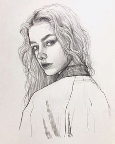 "5,307 Likes, 19 Comments - Yuriy Strigul (@onyxkawai) on Instagram: ""#pencil ✏️ sketch portrait drawn by Juhee @zoohii another artist from South Korea """