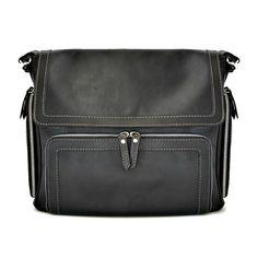 Pratesi Elba Black Leather Satchel BBK121 £454.00