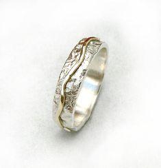 Mens wedding ring mens wedding band sterling silver by ilanamir, $120.00