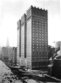 Daytonian in Manhattan: The 1912 Vanderbilt Hotel -- Park Avenue and 34th Street