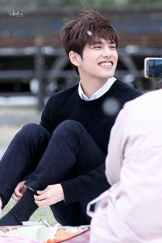 I love his smile ❤️ Wonpil I Still Love Him, My Love, Astro Sanha, Day6 Sungjin, Kim Wonpil, Young K, Kpop Guys, Korean Bands, Pink Sweater