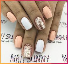 Are you looking for summer nails colors designs that are excellent for this summer? See our collecti Are you looking for summer nails colors designs that are excellent for this summer? See our collection full of cute summer nails colors idea Summer Holiday Nails, Cute Summer Nails, Fun Nails, Nail Summer, Summer Beach, Summer Makeup, Colorful Nail Designs, Simple Nail Designs, Nail Art Designs