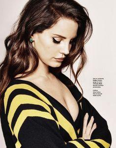 Lana Del Rey's Ultra-Cool Spread For Grazia France via @WhoWhatWear
