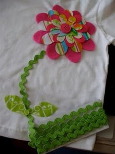 fabric flower cut with die cutter