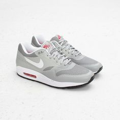 air max one reflective silver and red