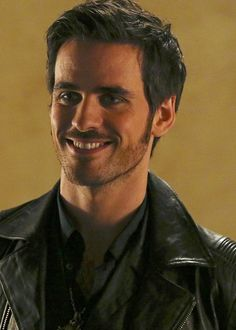 Look at him, how happy he is to finally have date with his Swan! #CS 4x04 still