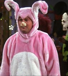 """""""It was the bunny or not bunny at all"""" """"No bunny at all! Always no bunny at all!!"""""""