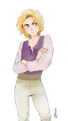 Tangled - GB - Rapunzel by vorabend-taboo.deviantart.com on @DeviantArt