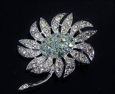 Excited to share the latest addition to my #etsy shop: Sarah Coventry / Rhinestone Brooch / Mid Century / MOUNTAIN FLOWER #jewelry #brooch #wedding #sarahcoventry https://etsy.me/2wQG24l
