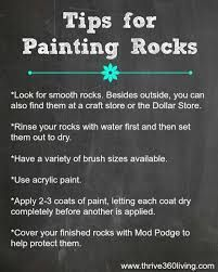 Image result for how to prepare rocks for painting