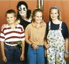 Elisabeth von Thurn und Taxis about their friedship to Michael Jackson, 1992 Munich, Germany