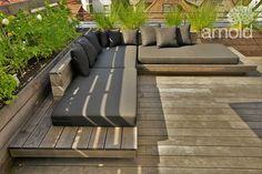 Backyard Seating, Garden Seating, Backyard Patio, Backyard Landscaping, Outdoor Lounge, Outdoor Seating, Outdoor Spaces, Outdoor Living, Backyard Furniture