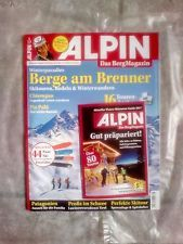 ALPIN!Das Berg Magazin!Ausgabe: 1/17!NEU!