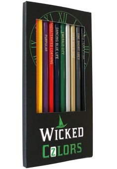 Wicked Colored Pencils