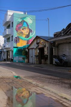 Street Artists Cover Mexican Island In Murals To Help Save Sharks And Manta Rays | Bored Panda