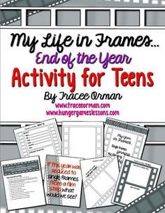 End of the Year Activity and Memory Book for Teens #teacherspayteachers #TPT