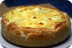 Hartige Taart met Champignons, Salami en Mozzarella