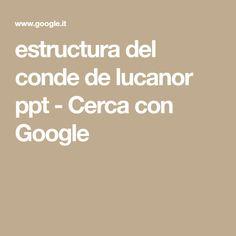 estructura del conde de lucanor ppt - Cerca con Google