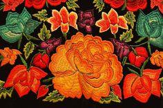 Bordados dos vestidos das mulheres tehuanas 03