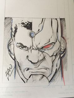Cyborg by Ivan Reis: motor city comic con