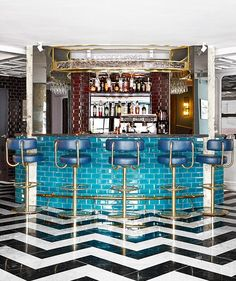 A Peek Inside the Netherland's Newest Restaurant San George #Amsterdam #restaurant #design