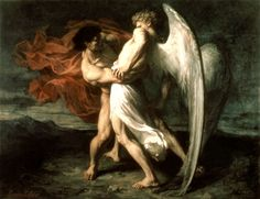 Under The Ivy: Jacob and the Angel