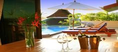 Phuket private villa provides luxury villas with wonderful floor planning. The front of the villa faces westwards you will get a beautiful view of sun setting over the top coconut trees.