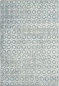 Contemporary Kensington Rug, made in India, wool and viscose.