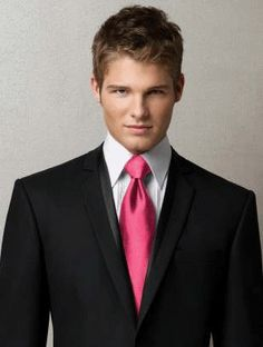Honeysuckle Tuxedo Tie for Men by Dessy - Dessy Wedding Accessories - Weddings by Dessy