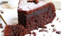 Chocolate-coffee Brownie in cooking