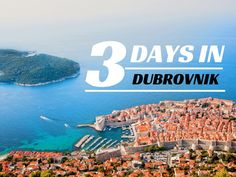 Check out this 3 day Dubrovnik itinerary, and leave behind the same boring suggestions found on any travel blog & google searches.