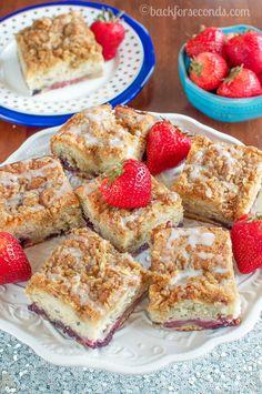 Heavenly Triple Berry Coffee Cake