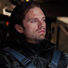 Sebastian Stan as Bucky Barnes // CA: Civil War