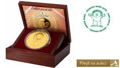 Dobročinná aukce zlaté medaile Karel Gott s číslem 1 Special Events, Children, Young Children, Boys, Kids, Child, Children's Comics, Sons, Kid