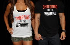 Sweating for the Wedding Workout Tank Top by fitlittlebride