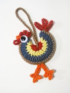 Ravelry: SeriouslyDaisies' Rooster for Connie