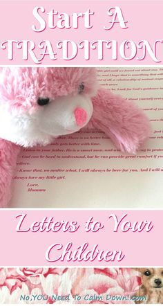 Start a beautiful family tradition. Write a letter to your newborn child. Tell them your hopes and dreams for their life, and just how much you love them already. Continue the tradition as you write them a new letter for special occasions and milestone birthdays.