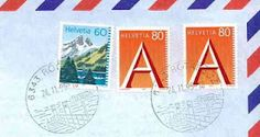Airmail from Switzerland